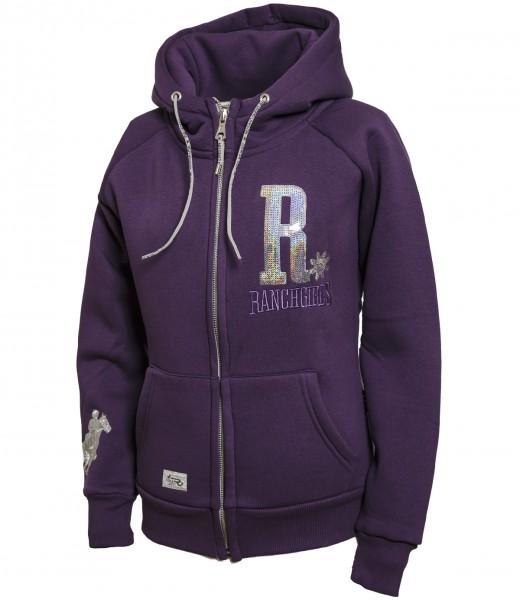 Ranchgirl Hoodie SHINY purple