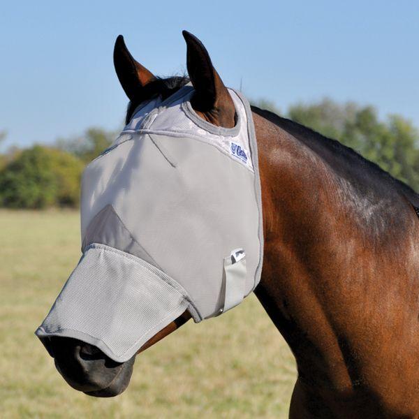 Cashel Crusader Fliegenmaske mit Nase ohne Ohren