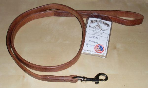 Buckaroo Leather Dog Leash Hundeleine