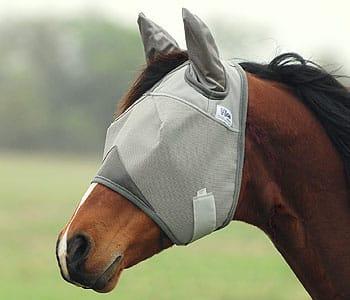 Cashel Crusader Fliegenmaske mit Ohrenschutz aber ohne Nasenschutz