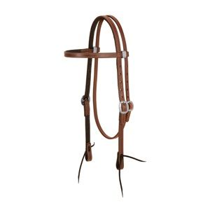 Weaver ProTack Chap Lined Browband Headstall
