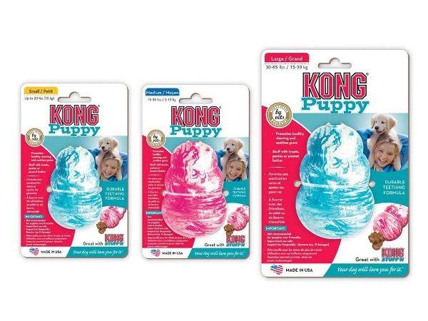 Kong Puppy klein, mittel und groß