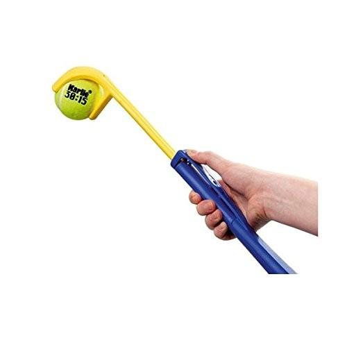 Wurfarm längenverstellbar mit Tennisball