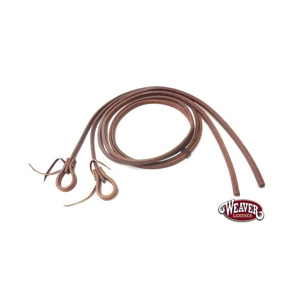 """""""Weaver Leather Working Cowboy Extra Heavy Harness Split Reins 1/2"""""""""""""""" - 240cm"""""""