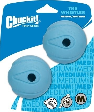 Chuckit The Whistler Spielball 2er-Set Medium