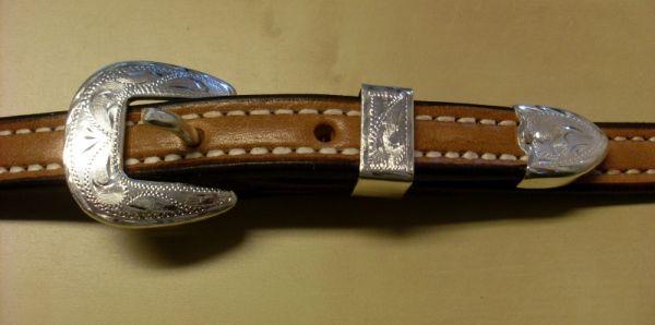 Showkopfstück Schutz Brothers Salena Entry Level Silver Doubled&Stitched
