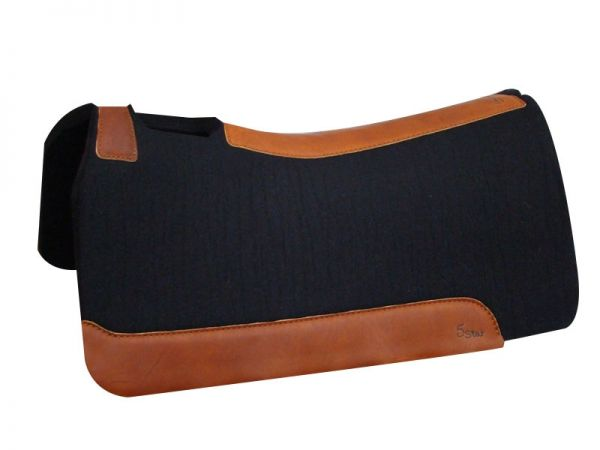 5 Star Equine Pad 3/4 Inch black