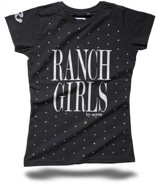 Ranchgirl T-SHIRT KYLIE black