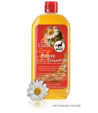 Leovet Power Shampoo mit Kamille helle Pferde