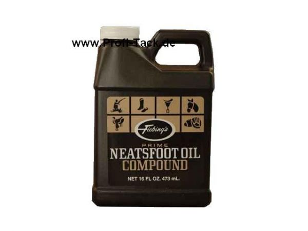 Neatsfoot Oil compound original Fiebings 473 ml