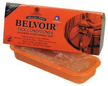 Carr Day Martin Belvoir Leather Soap Riegel