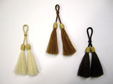 Horse Hair Tassel Double Swing