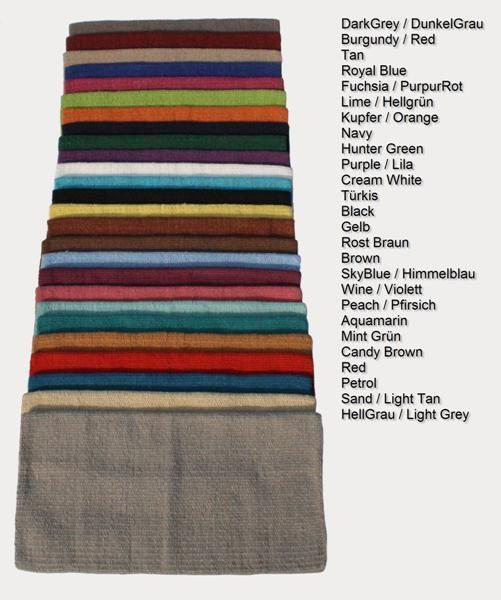 SHOW das Wollblanket in 26 Farben