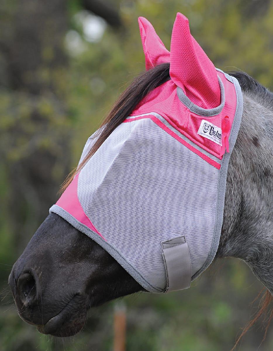 Fliegenmaske pink Cashel