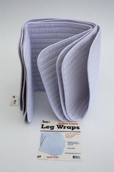 Bandagenunterlagen dünn / Bandagen Pad`s im 4er Set