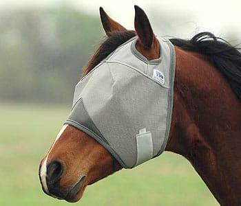 Cashel Crusader Fliegenmaske ohne Ohren- und Nasenschutz