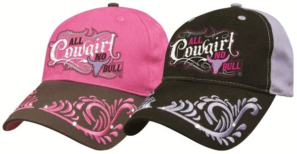 Cap All Cowgirl no bull