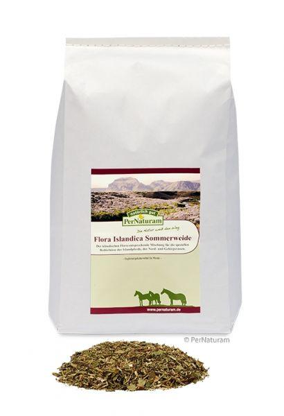 PerNaturam Flora Islandica Sommerweide Kräutermischung 1 kg - Stoffwechsel