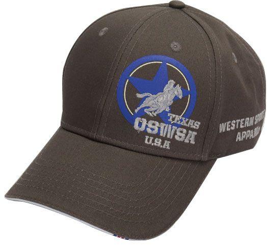 OSWSA MENS CAP STAR rhinogrey