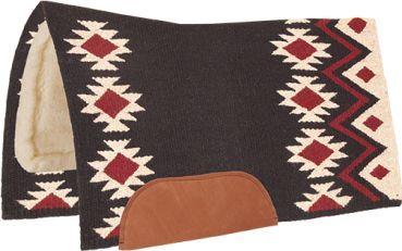 Mustang Aztec Wool Bottom Show Pad Contoured 36´´ x 34´´