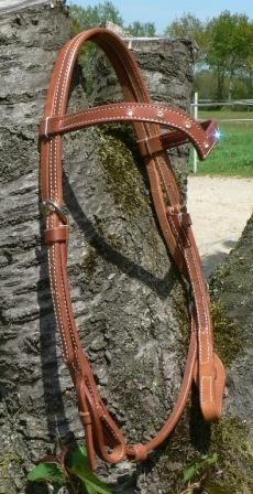 Sparkle! Quick Change V-Shaped Harness Kopfstück mit Clearstones