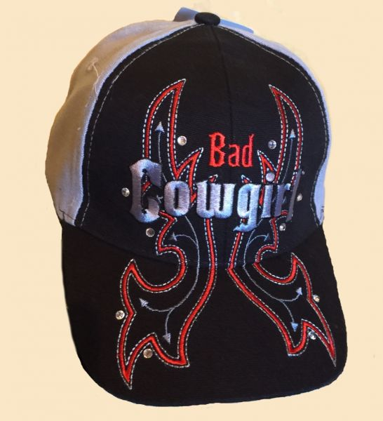 Cap Bad Cowgirl grey