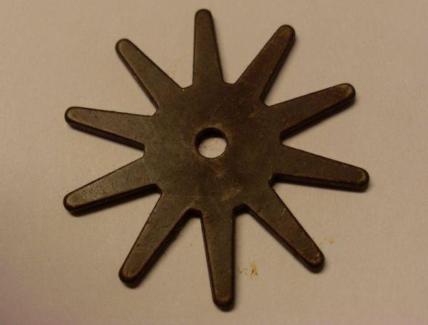 Sporenrädchen 10-fach antique brown medium