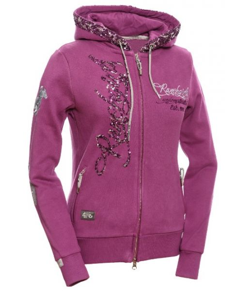 Ranchgirls Women Hooded Sweat JKT Jesssii fuchsia