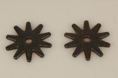 Sporenrädchen 10fach schwarz