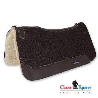 Classic Equine Sensorflex Wool Felt Pad 31' x 32' - 1 Inch