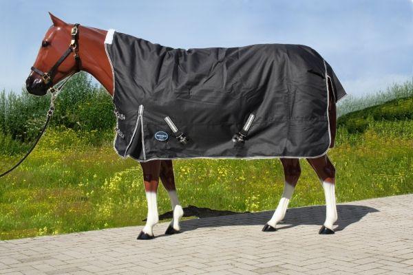 Tough Horse 1680D Regendecke mit Half Neck