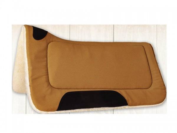 Mustang Contoured Canvas Fleece Pad