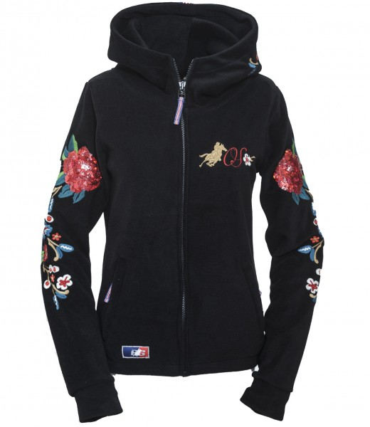 OSWSA Womens Polarfleece Jacket Fleur