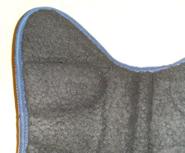 Transportgamaschen 4-Set mit Fleecepolster