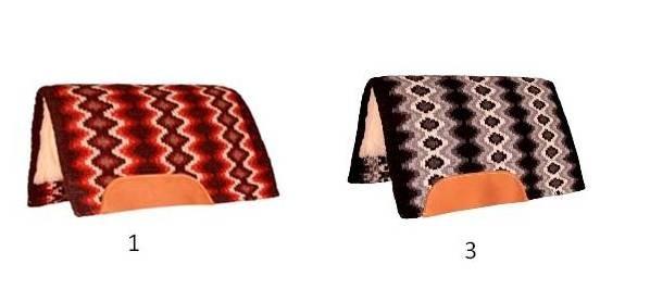 Mustang Mohair Woven Navajo Fleece Pad