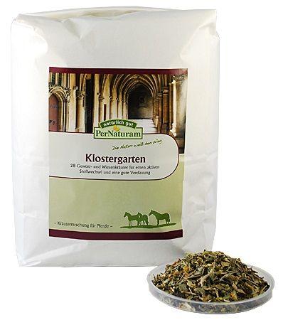 PerNaturam Klostergarten Kräutermischung 1 kg - Stoffwechsel und Verdauung