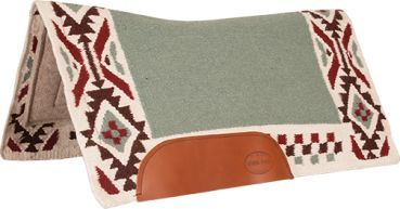 Mustang Freedom Wool Bottom Show Pad Contoured 36´´ x 34´´