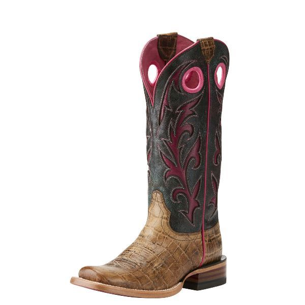 Ariat Chute Out Antique Tan