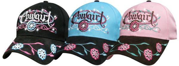 Cap Cowgirl Prairie Rose