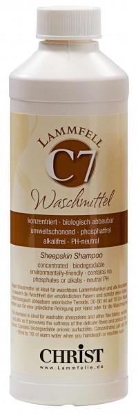 Christ Lammfelle Waschmittel C7