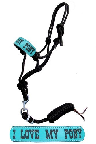 I love my Pony Rope Halfter mit Strick