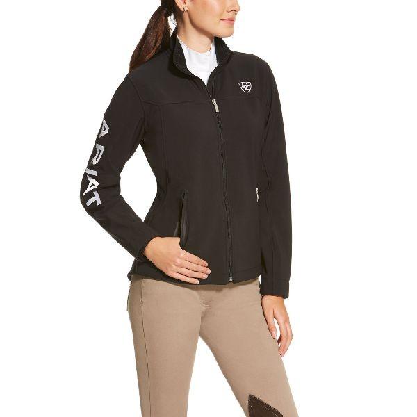 Ariat Womens New Team Softshell Jacket black