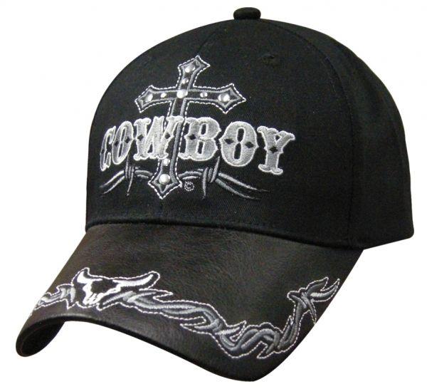 Cap Cowboy Cross black