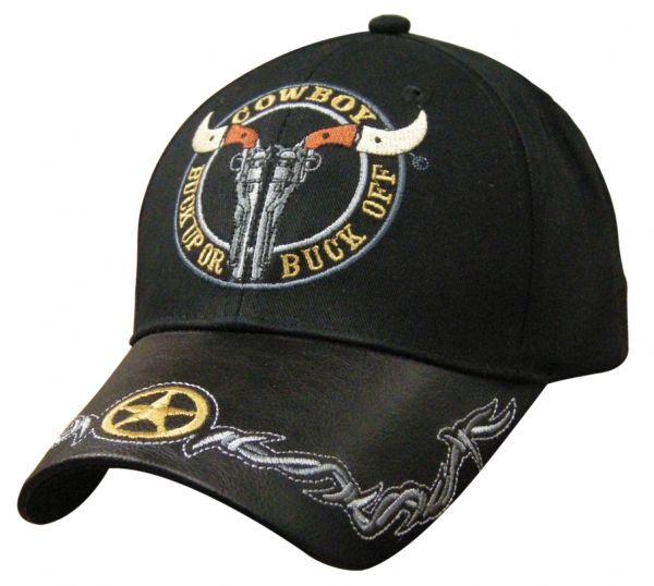 Cap Cowboy Buck up or Buck off