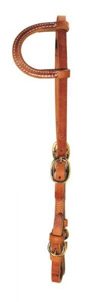 Ultimate Cowboy Gear Einohr Kopfstück Buckle Cheek