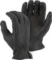 Majestic Handschuh Black Camel Hide