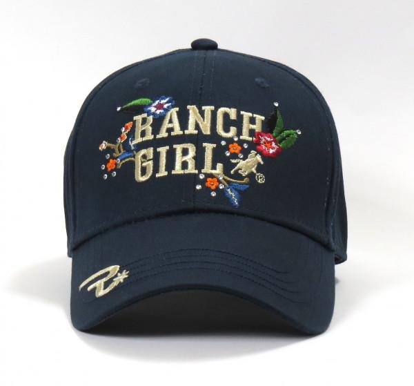 OSWSA Ranchgirls Cap Flower stone blue
