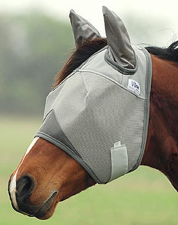 Crusader Fliegenmaske mit Ohrenschutz, aber ohne Nasenschutz von Cashel