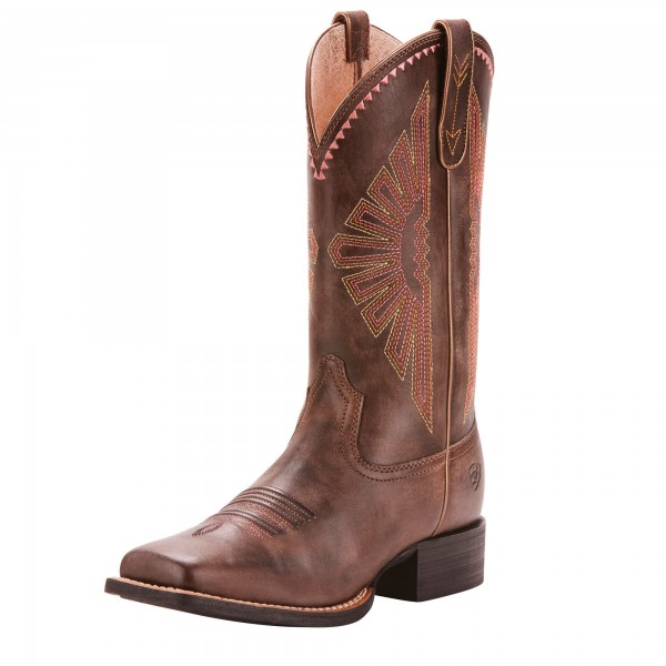 Ariat Womens Round Up Rio Western Boots