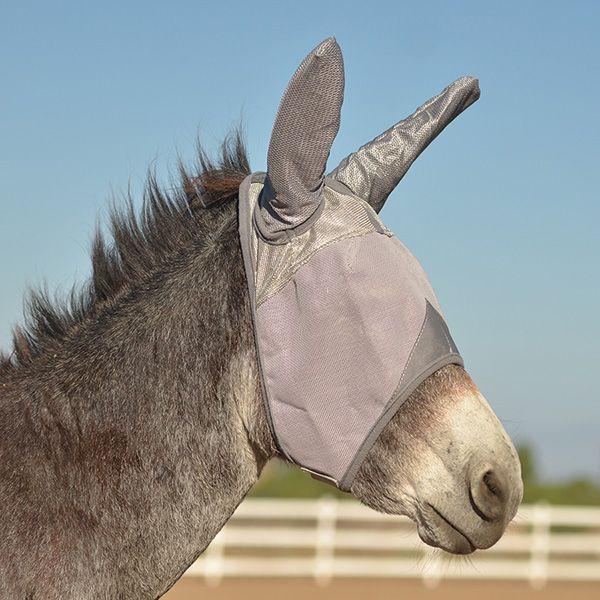 Crusader Fly Mask Cashel UV-Schutz Fliegenmaske mit Ohren ESEL